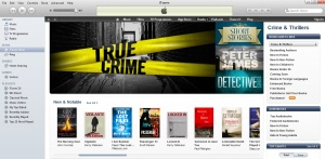 Locked In & Vigilante on the front page of iTunes
