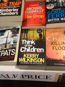 Think of the Children, Waterstones, Arndale, Manchester