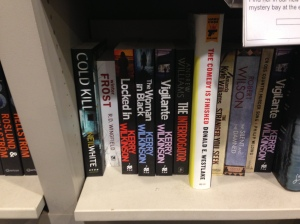 Locked In, Vigilante x2, Woman In Black, Waterstones, Arndale, Manchester