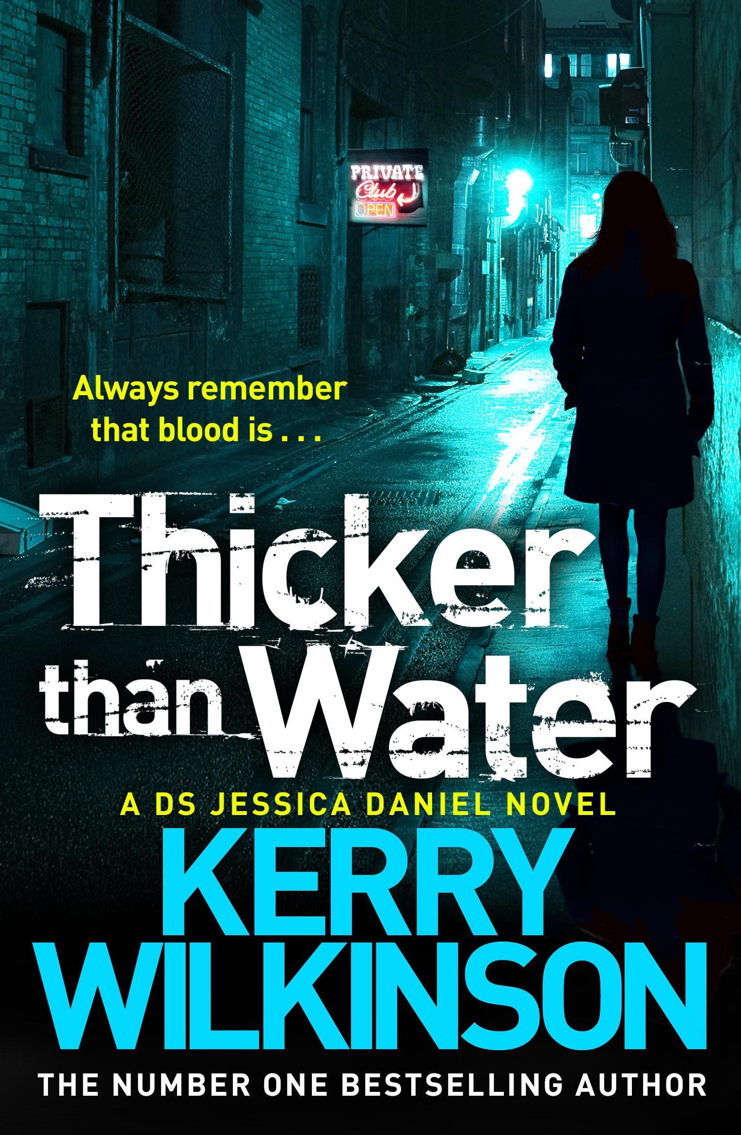 Kerry Wilkinson's Blog - Jessica Daniel, Andrew Hunter ...